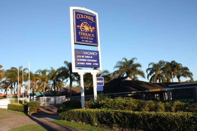 Colonial Terrace Motor Inn - Tourism Gold Coast