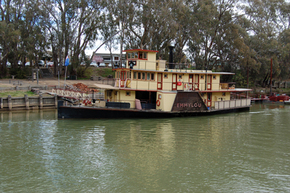 Emmylou Paddle Steamer - Tourism Gold Coast