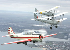 Vintage Tiger Moth Joy Flights - Tourism Gold Coast