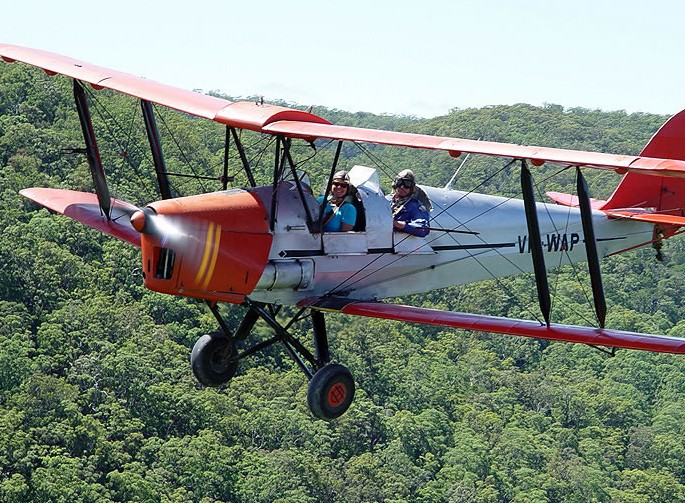 Tigermoth Joy Rides - Tourism Gold Coast