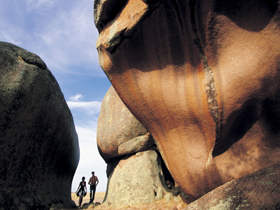 Murphy's Haystacks - Ancient Granite Rock - Tourism Gold Coast