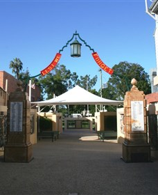 Gympie and Widgee War Memorial Gates - Tourism Gold Coast