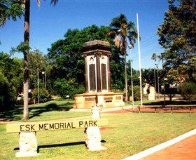 Esk War Memorial and Esk Memorial Park - Tourism Gold Coast