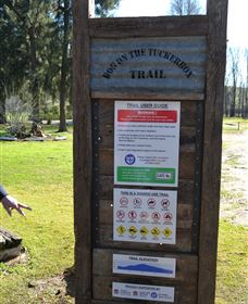 Dog on the Tucker Box Recreational Trail - Tourism Gold Coast