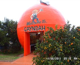 Gayndahs Big Orange - Tourism Gold Coast