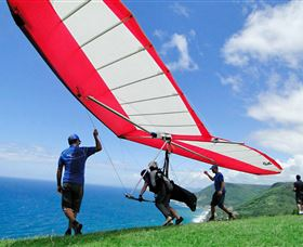 Hang gliding Oz - Tourism Gold Coast