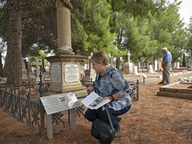 Stories of the Everyday Interpretive Trail - West Terrace Cemetery