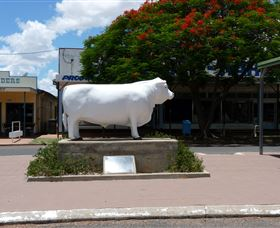 Aramac - The White Bull - Tourism Gold Coast