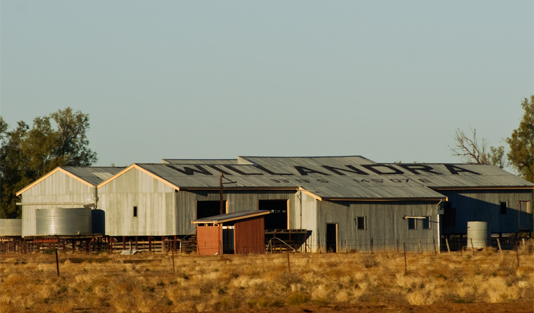 Willandra shearing precinct