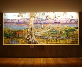 Adaminaby Memorial Hall Stage Curtain - Tourism Gold Coast