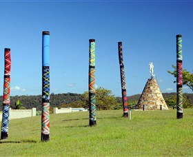 Maclean Tartan Power Poles - Tourism Gold Coast