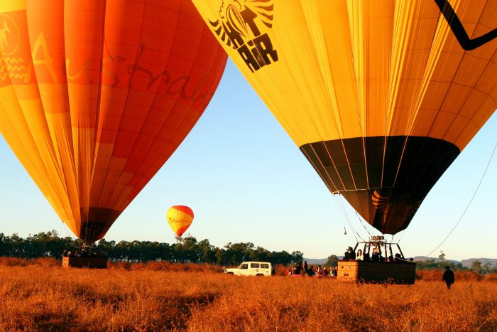 Hot Air Balloon Scenic Rim - Tourism Gold Coast