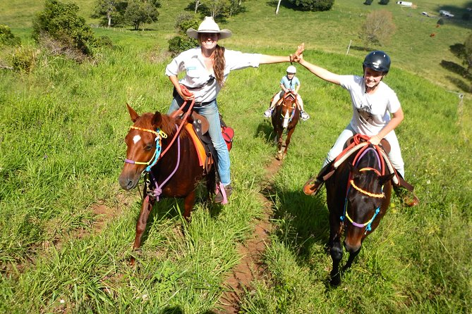 Country Day Ride from Mt Goomboorian with Rainbow Beach Horse Rides - Tourism Gold Coast