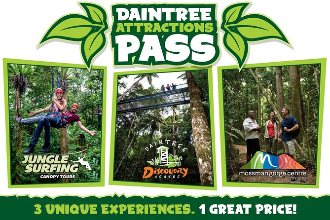 Daintree Atttractions Pass The Best of the Daintree in a Day - Tourism Gold Coast