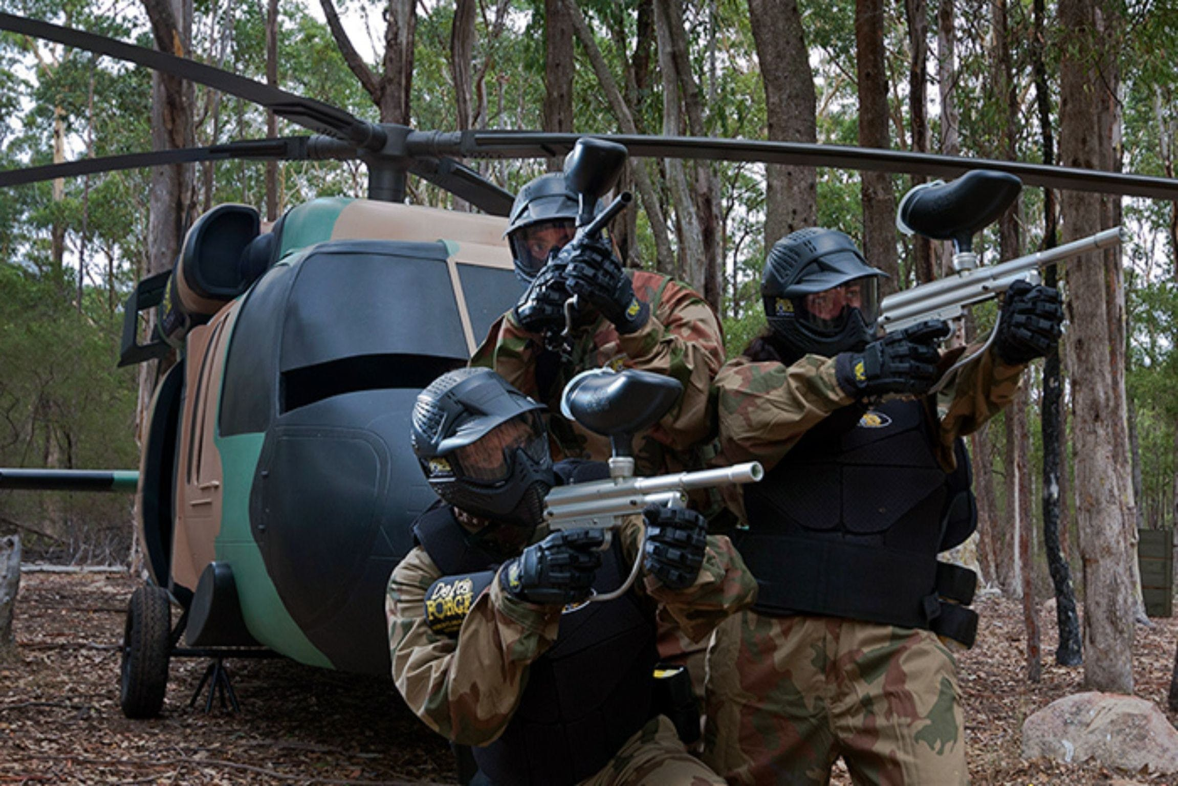 Delta Force Paintball Appin - Tourism Gold Coast