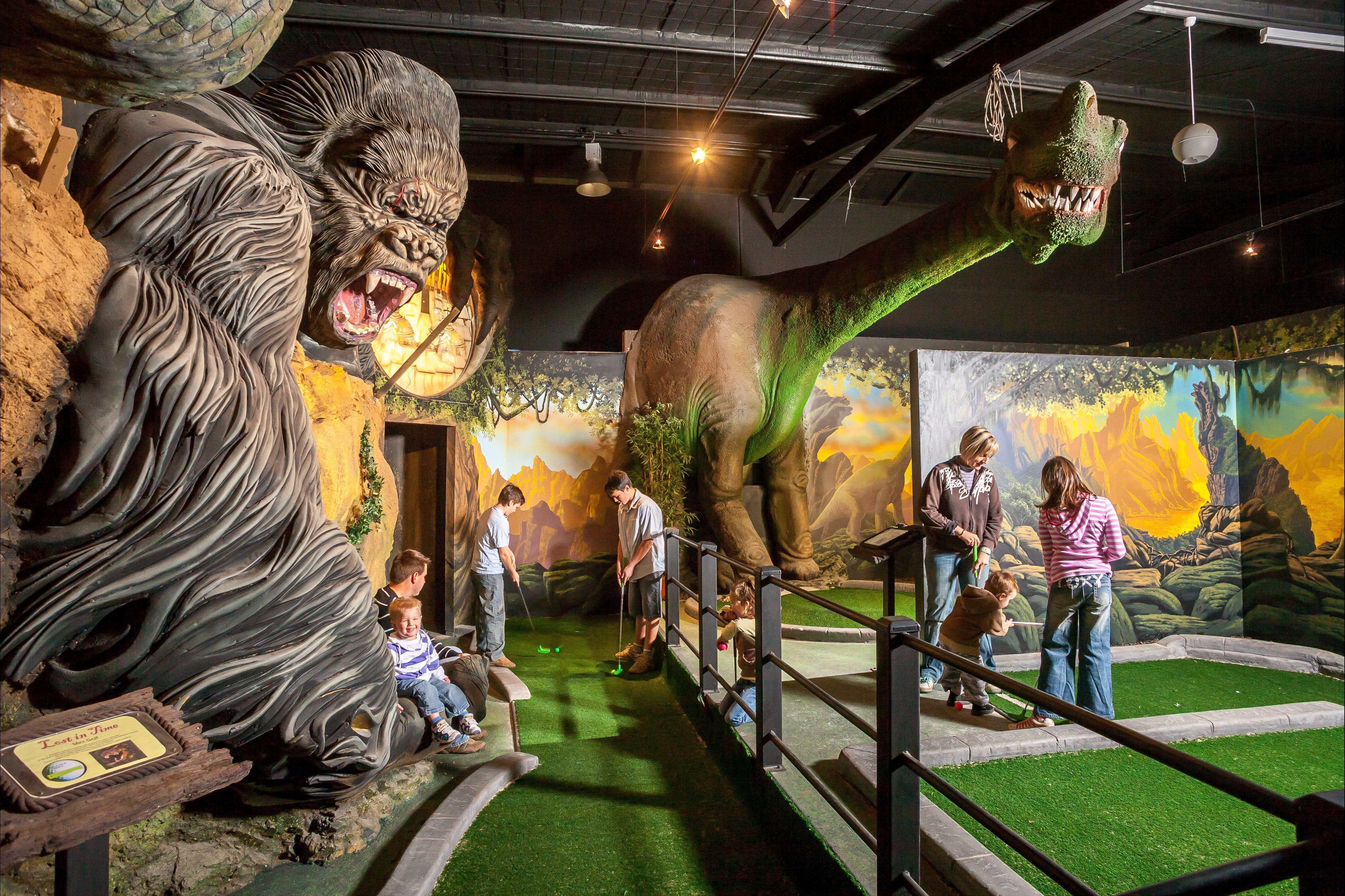 Gold Rush Mini Golf - Tourism Gold Coast