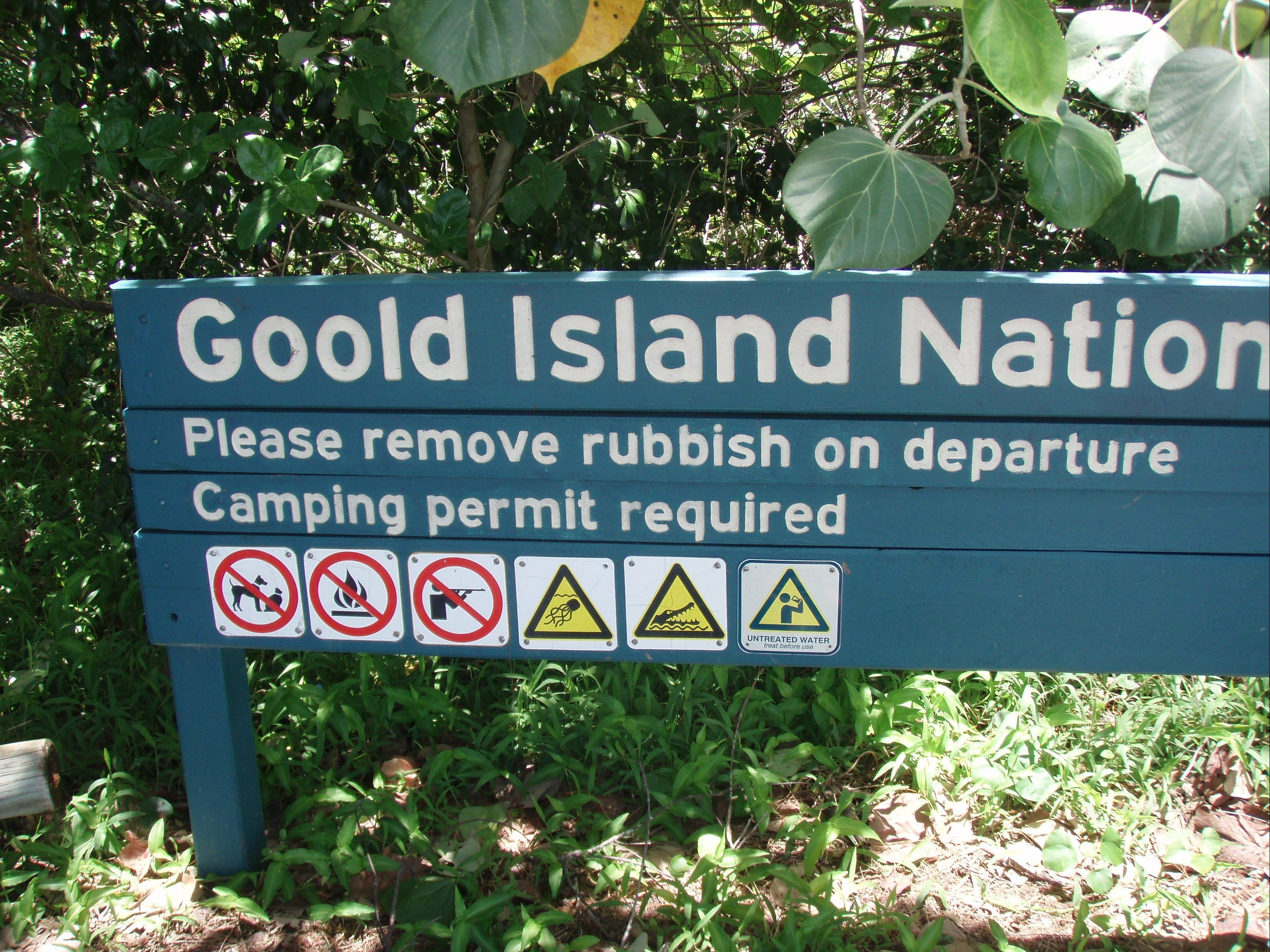 Goold Island National Park - Tourism Gold Coast