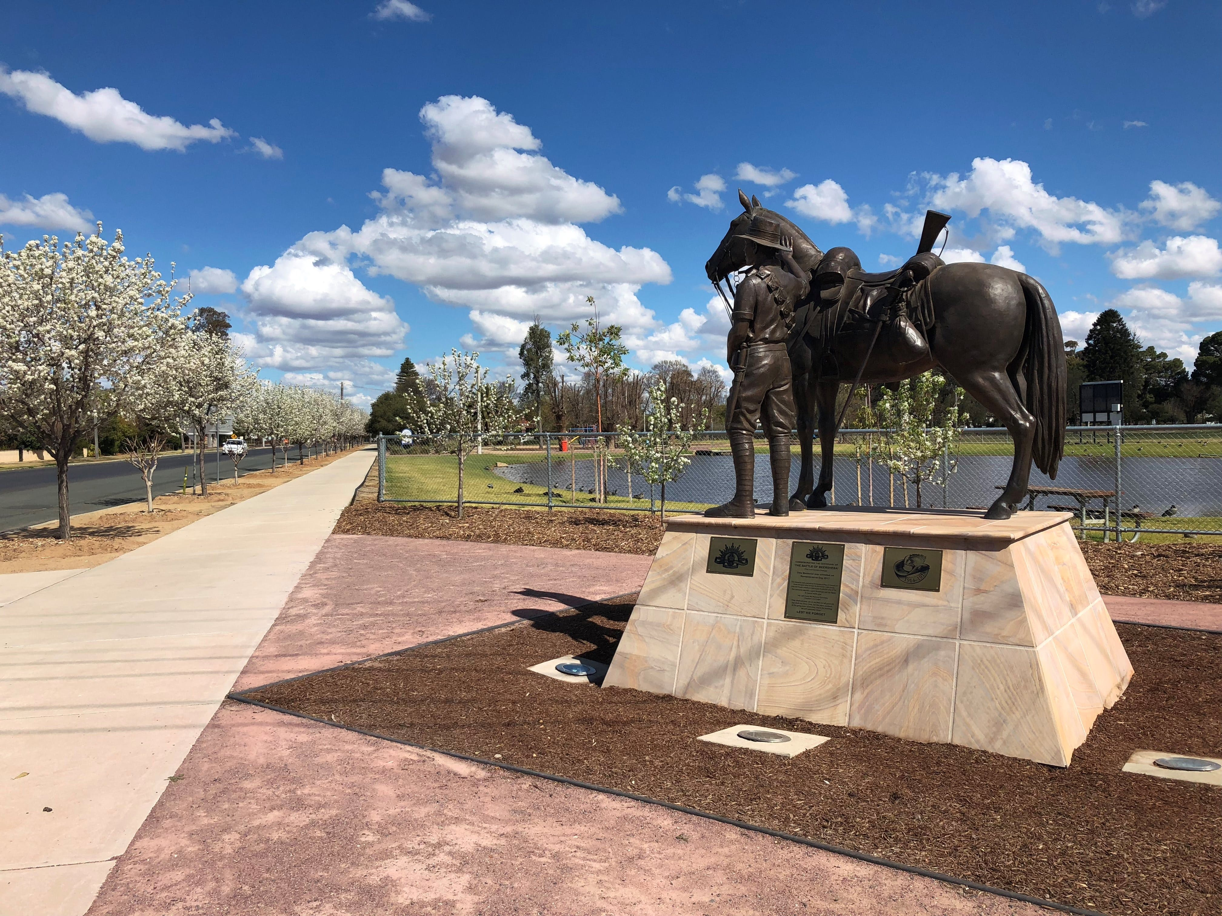 Light Horse Memorial Hay - Tourism Gold Coast