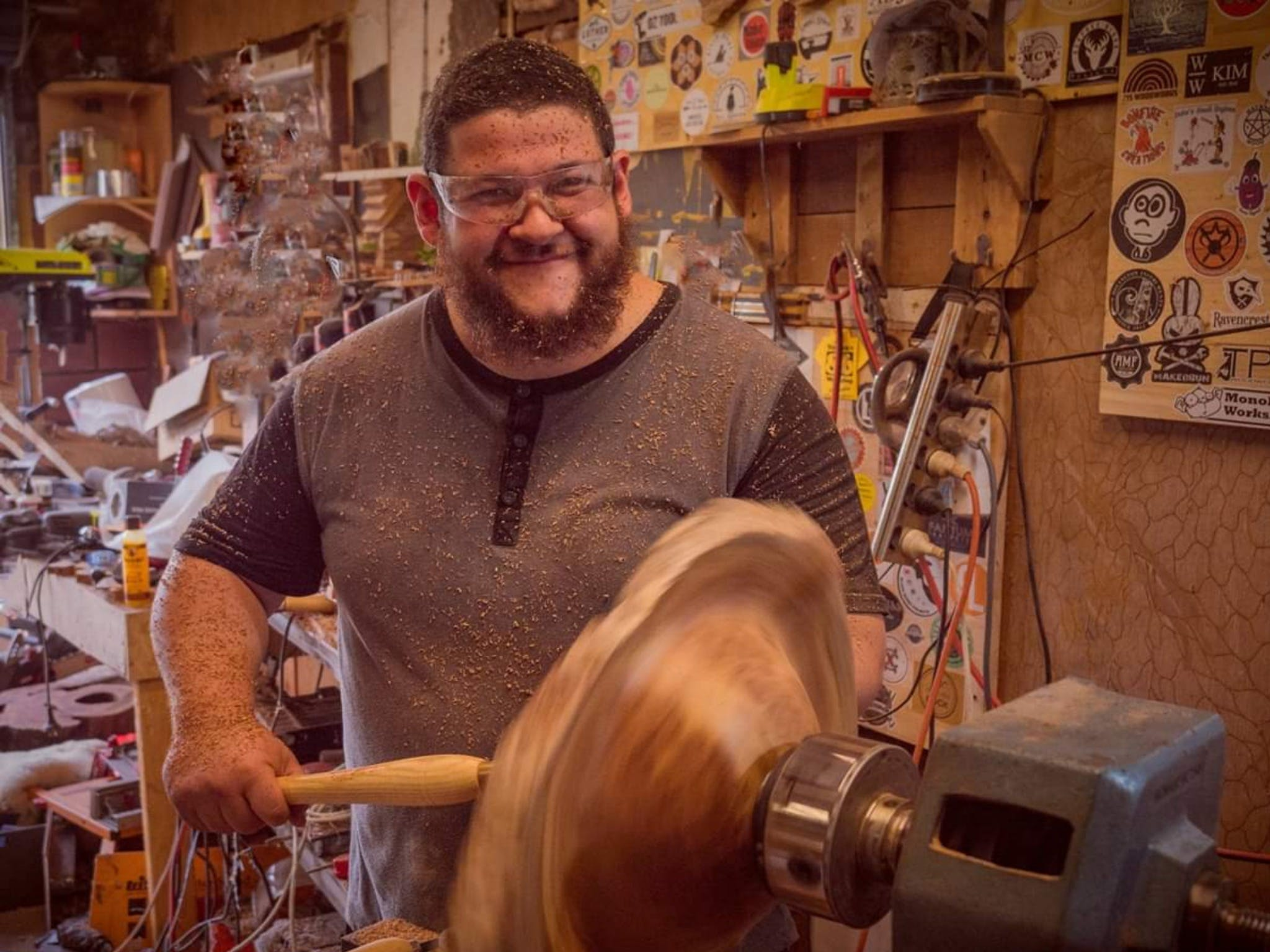 The Bearded Woodworker - Tourism Gold Coast