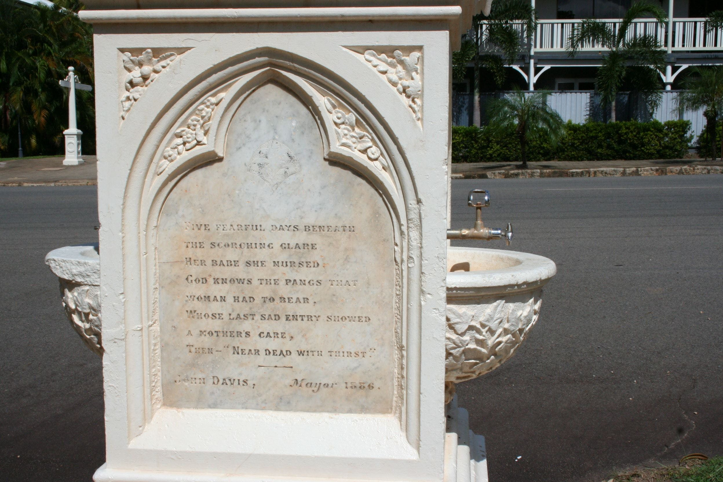 Mary Watson Monument Cooktown - Tourism Gold Coast