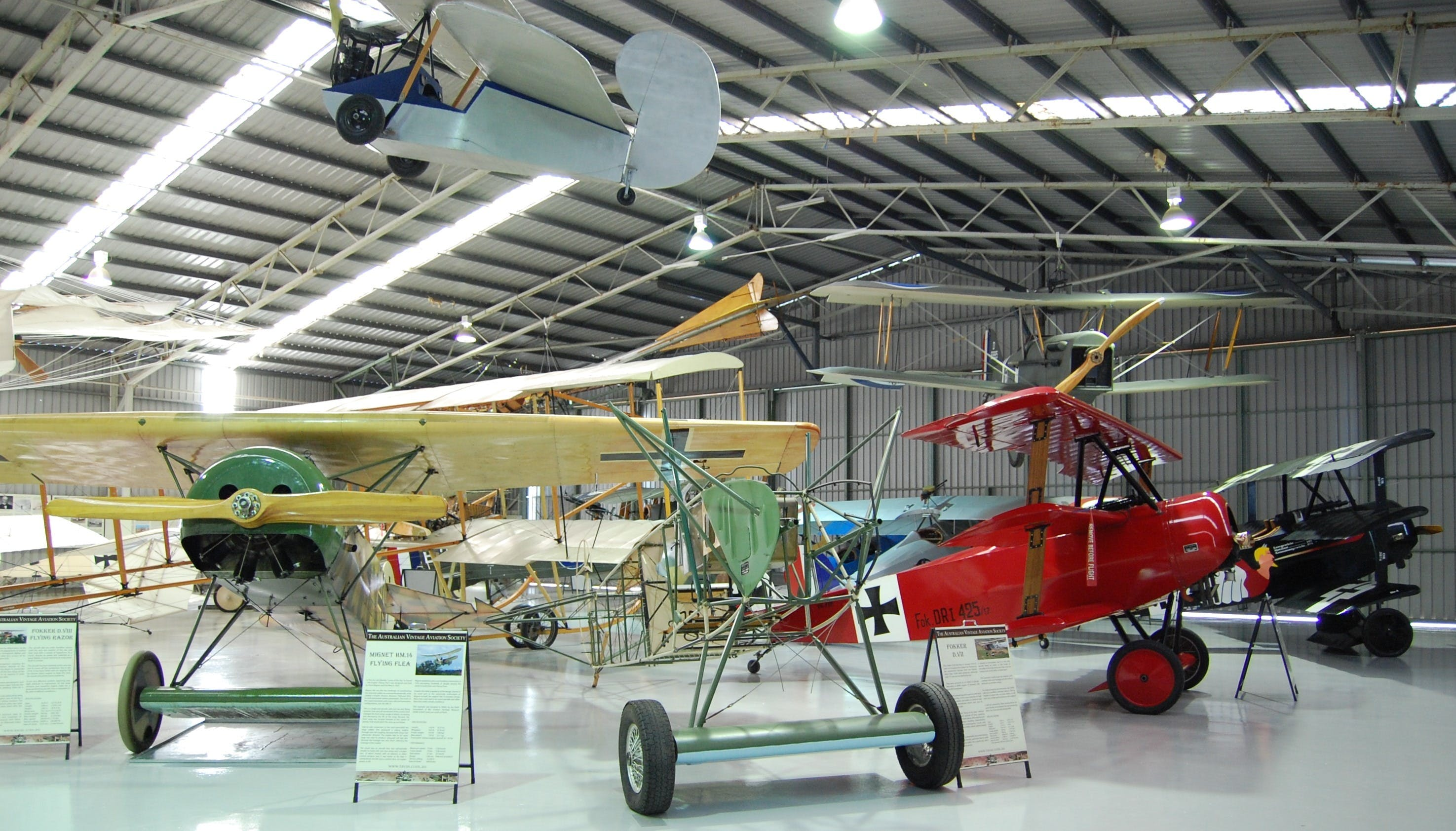 The Australian Vintage Aviation Society Museum - Tourism Gold Coast