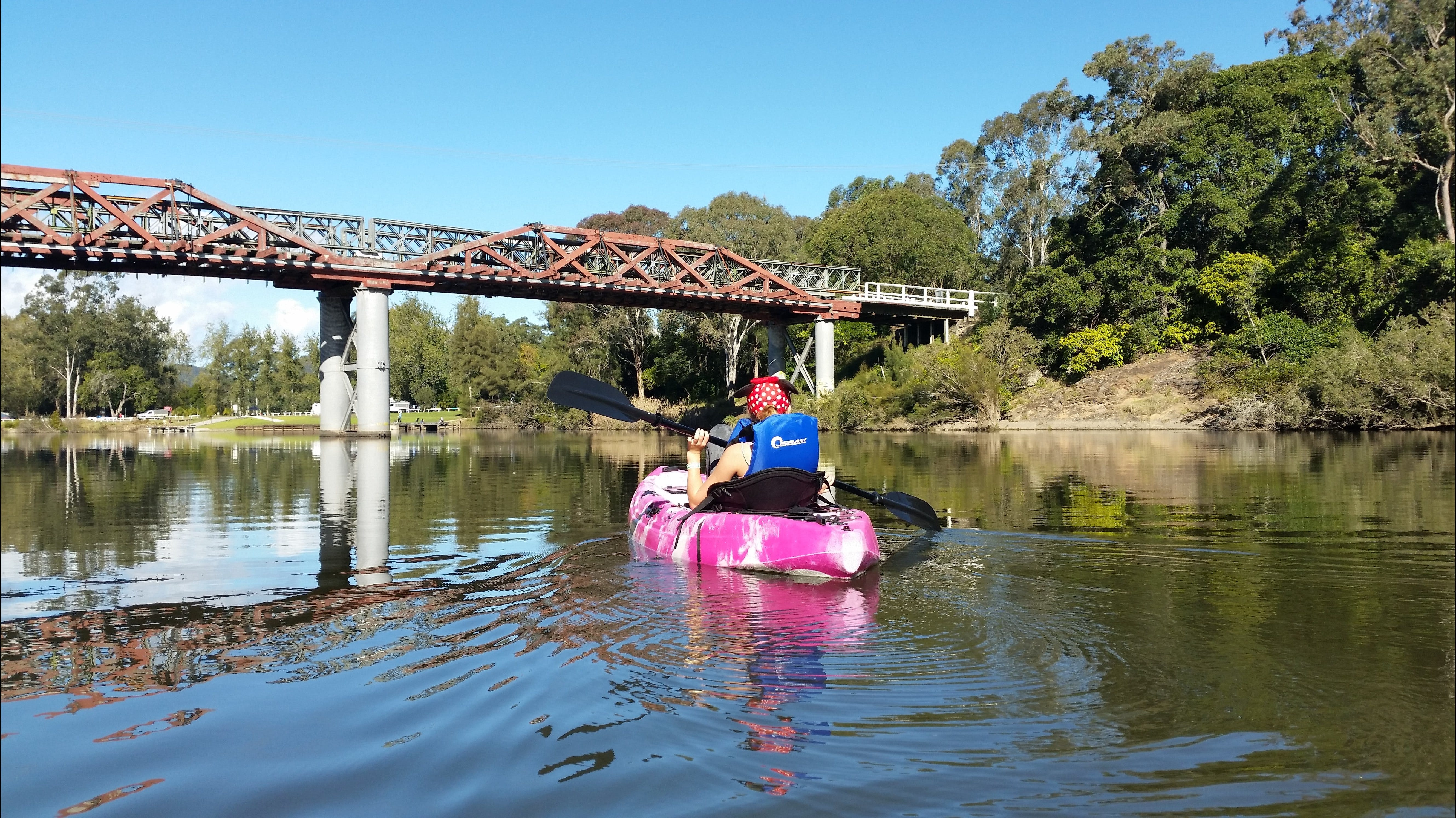 Canoeing at Clarence Town - Tourism Gold Coast