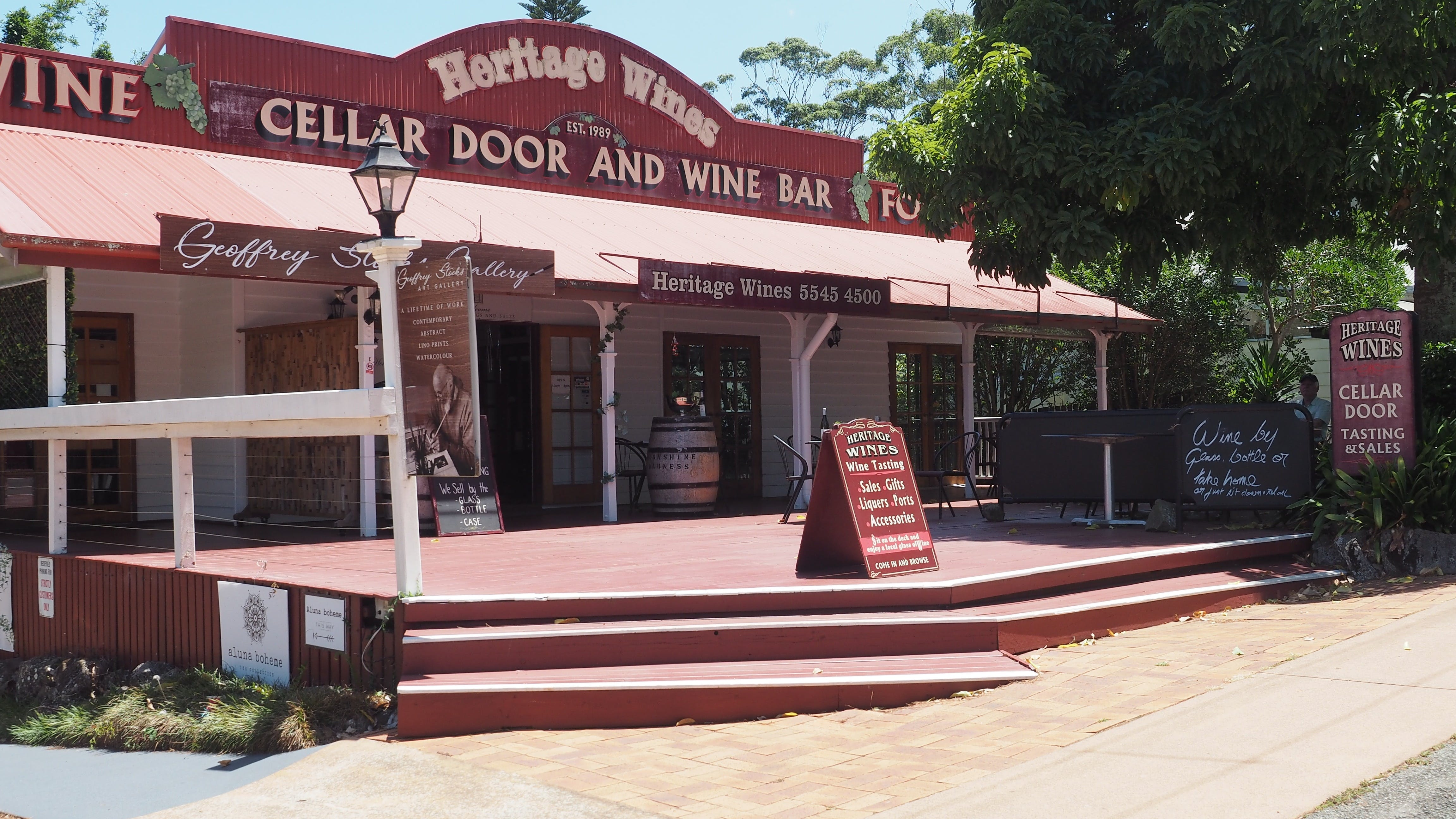 Heritage Estate Winery Cellar Door - Tourism Gold Coast