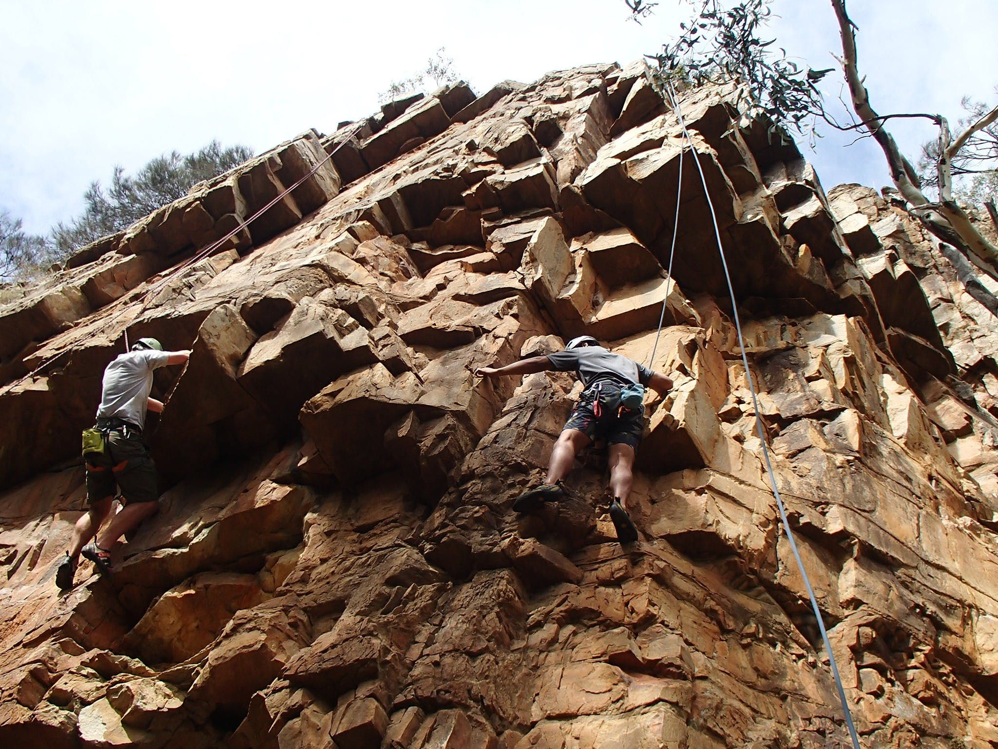 Rock Climbing in Morialta - Tourism Gold Coast