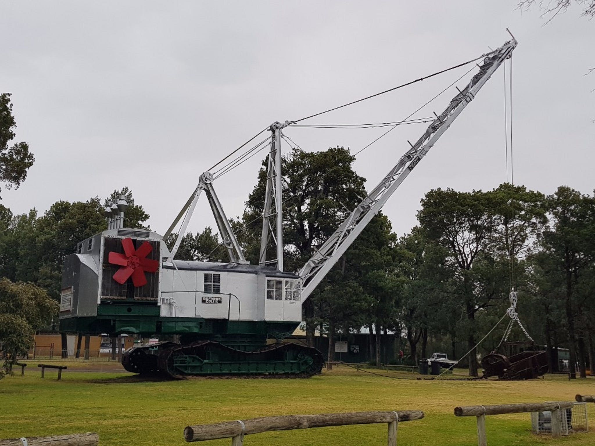 Coleambally Bucyrus Erie Dragline Excavator - Tourism Gold Coast