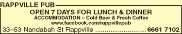 Rappville Pub - Tourism Gold Coast