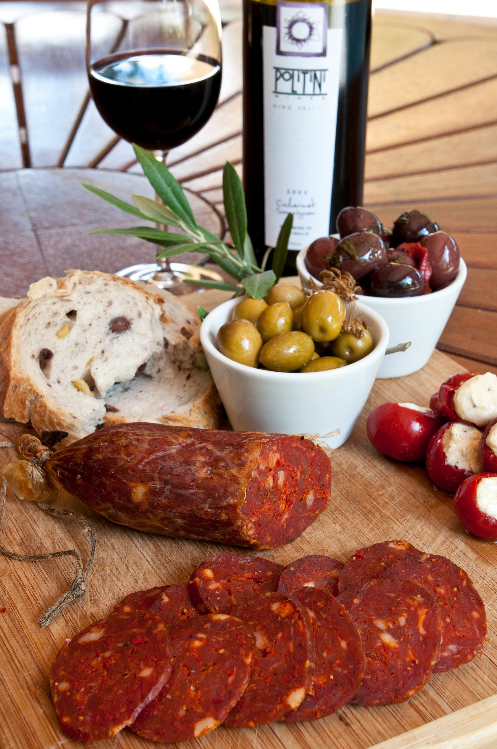 Salami and Salsicce Making classes at Politini Wines - Tourism Gold Coast