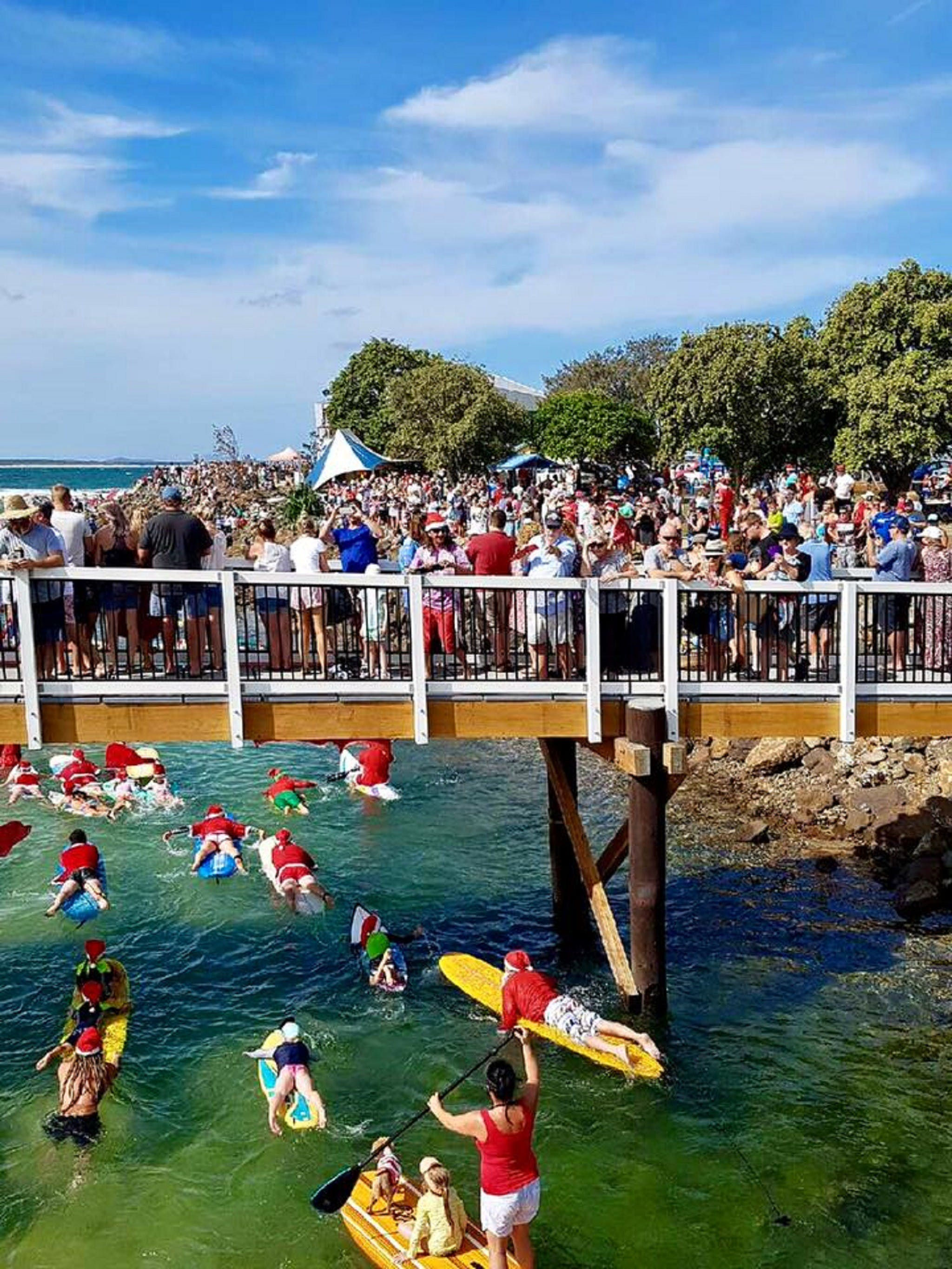 The Crescent Head Santa Surf - Tourism Gold Coast