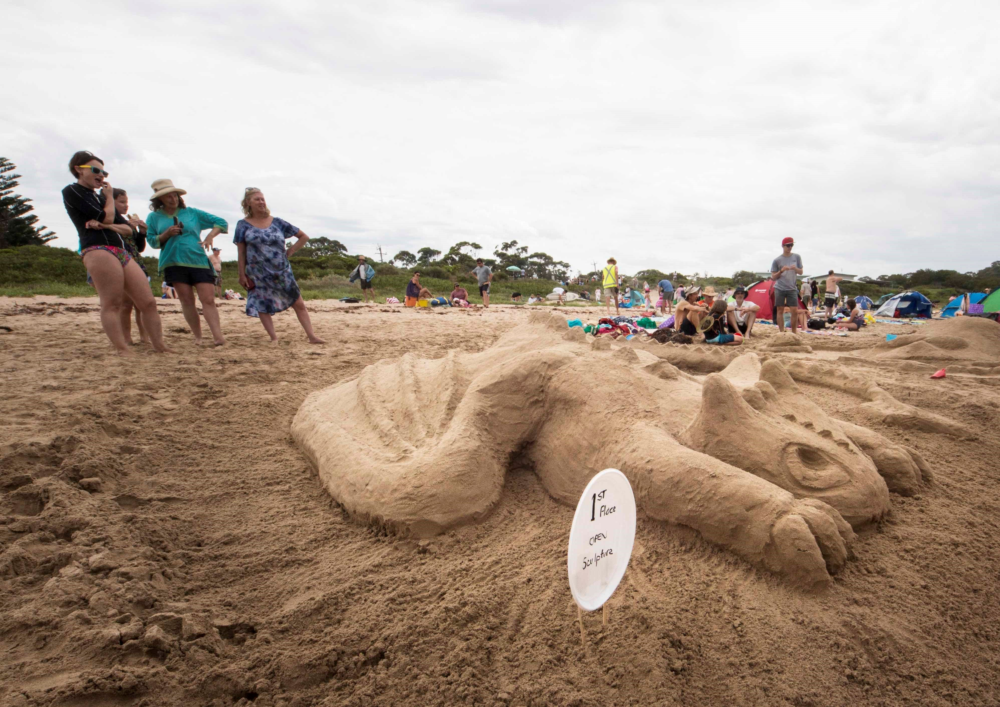Broulee New Year's Eve Sandcastles and Sculptures - Tourism Gold Coast
