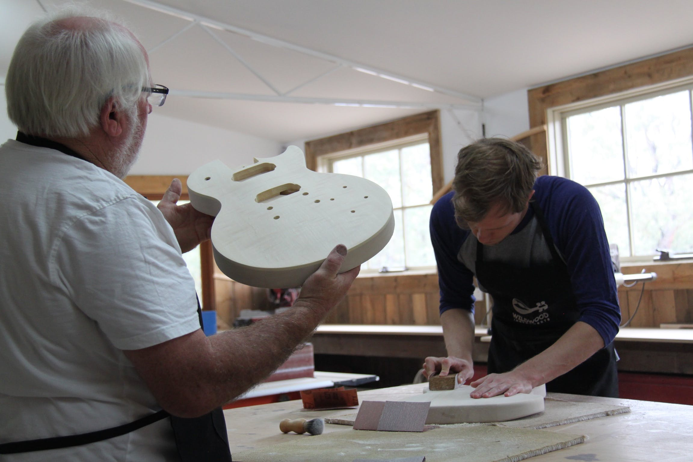Electric Guitar Making Courses - Tourism Gold Coast