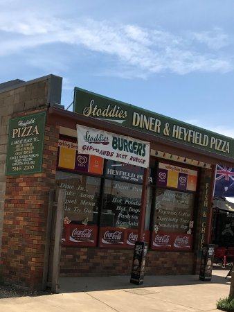 Stoddies Diner  Heyfield Pizza - Tourism Gold Coast