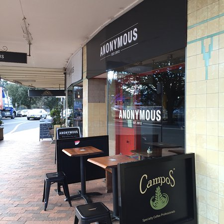 Anonymous Cafe - Tourism Gold Coast