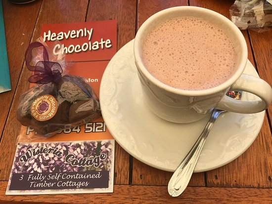 Stanthorpe's Heavenly Chocolate at Wisteria Cottage - Tourism Gold Coast