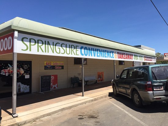 Springsure Convenience  Takeaway - Tourism Gold Coast