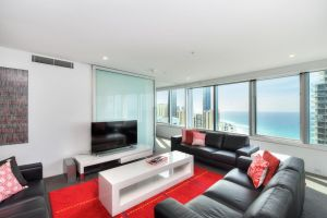 3 Bedroom Ocean View Private Apartment in Surfers Paradise Surfers Paradise